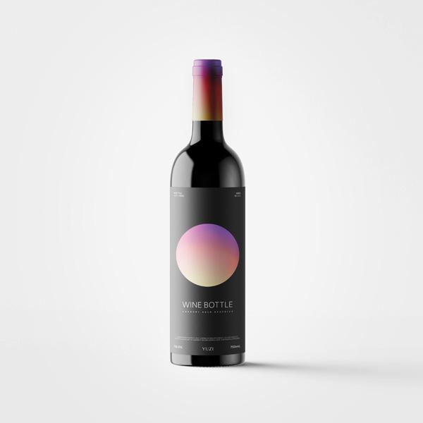 Wine Bottle 模型